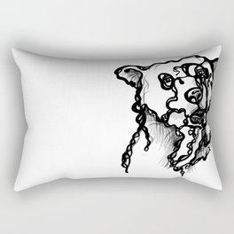 A bear Rectangular Pillow