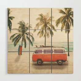 Traveling Time Wood Wall Art