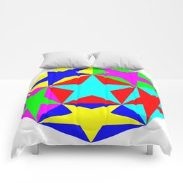 Half Dodecahedron Stars Comforters