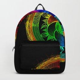 Chakra Blossom Mandala Backpack