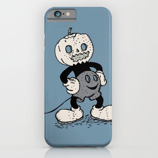 Mickey Pumpkin (desaturated) iPhone & iPod Case