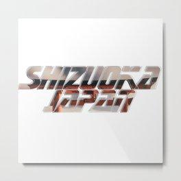 Shizuoka Japan Metal Print