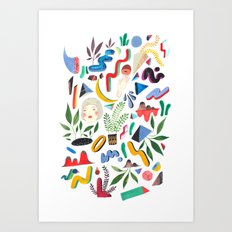mind full Art Print