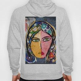 Portrait of a mystique girl Hoody