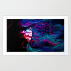 DROWN Art Print