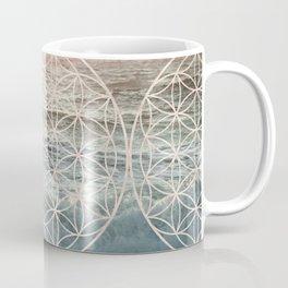 Mandala Flower of Life Sea Coffee Mug