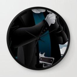Sin City-Dwight Wall Clock