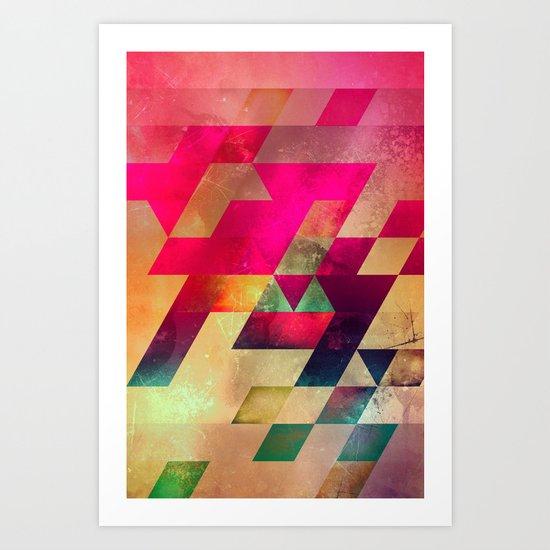 syx nyx Art Print