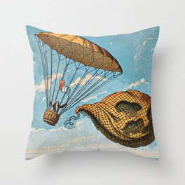 Early Flight Throw Pillow
