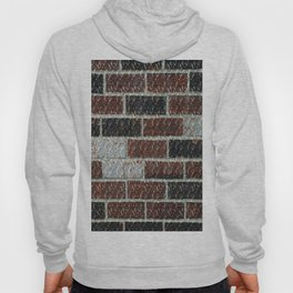 Multi-Color Marble Brick Texture Hoody