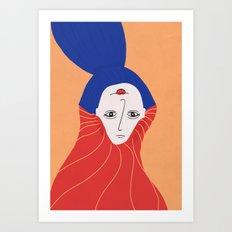 happy tobe sad Art Print