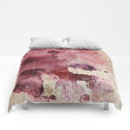 Garnet Color Splash Comforters