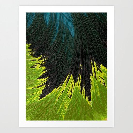 No Name Abstract Art Print