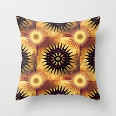 star polygon patterns Throw Pillow