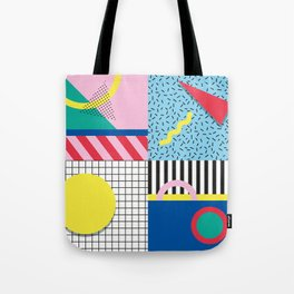 Memphis Party Tote Bag