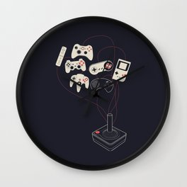 Videogame Wall Clock