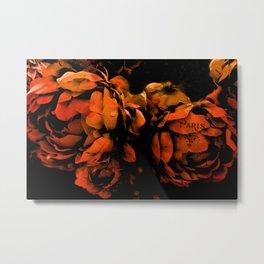 Autumn Fall Nature Prints - Surreal Flower Prints Home Decor Metal Print
