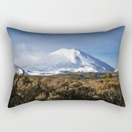 Mt Ngauruhoe Rectangular Pillow