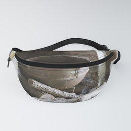 1800's Cooking Pot in Slave Quarters Civil War Era Fanny Pack
