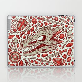 Hoard of the Gem Dragon | Ruby Laptop & iPad Skin