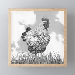 Welcome to the Farm Framed Mini Art Print