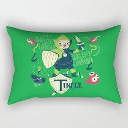 the legend of tingle Rectangular Pillow