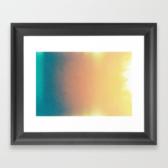 Corazón Framed Art Print