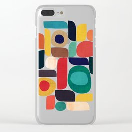 Miles and miles Clear iPhone Case