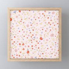 W/LDFLOWERS Framed Mini Art Print