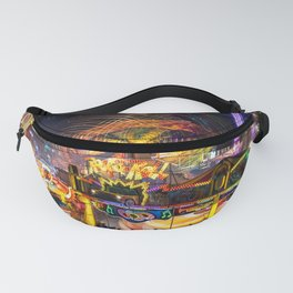 Fairground Attraction panorama Fanny Pack