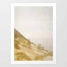 The Mountain Climb Art Print