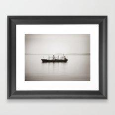 Alone.... Framed Art Print
