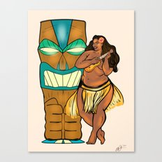 Hula Lula! Canvas Print