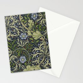 William Morris Seaweed Pattern Stationery Cards