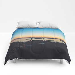 Dubrovnik Sunset Comforters