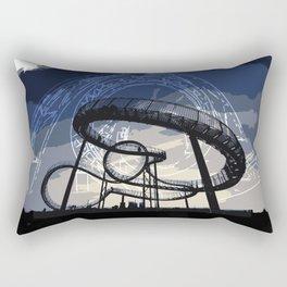 Roller Coaster Rectangular Pillow