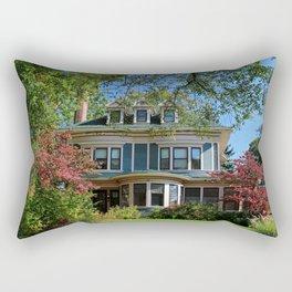 Old West End Blue 15- II Rectangular Pillow