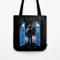 It's Bigger on the Outside Tote Bag