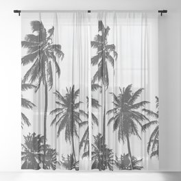 Palm 05 Sheer Curtain