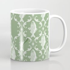 In which a fish frees itself (green option) Mug
