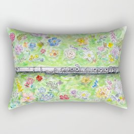 Voice of Silver Rectangular Pillow