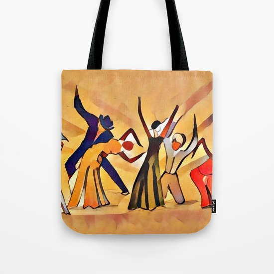 Song & Dance Tote Bag