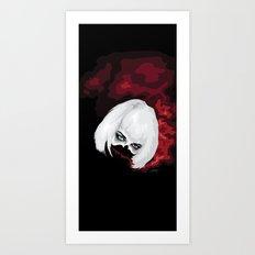 SMOKE BLOOD INK Art Print