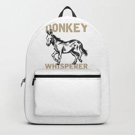 Donkey Whisperer Backpack