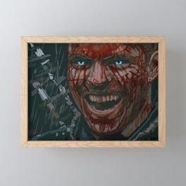 Ivar the Boneless Painting by Chris Ellis Framed Mini Art Print