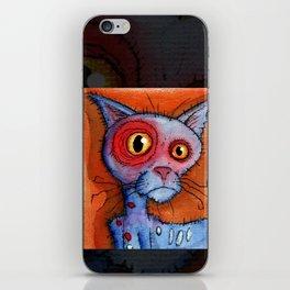 zombie cat iPhone Skin