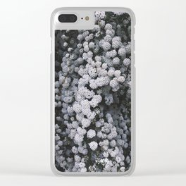 Little White Flowers [Part 1] Clear iPhone Case