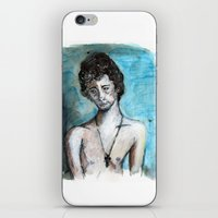 ben giles iPhone & iPod Skins featuring Ben by Leah Rose Buckman