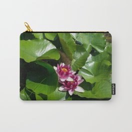 Lotus garden nature photo Carry-All Pouch
