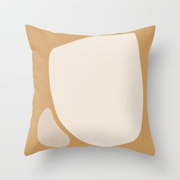 Abstract Shape Series - Neighbors Throw Pillow